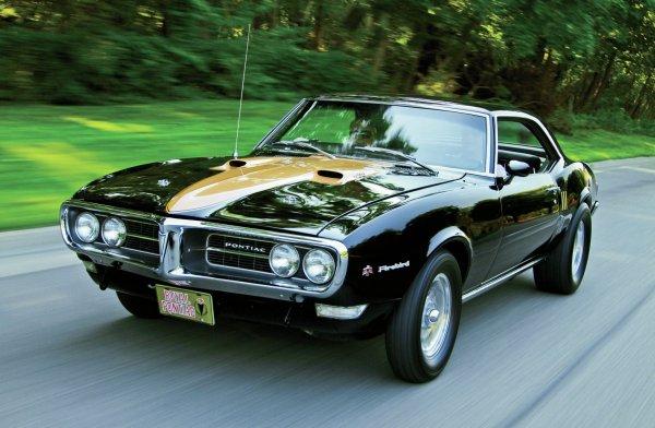 1968 Pontiac Firebird - Blackbird Flies Hot