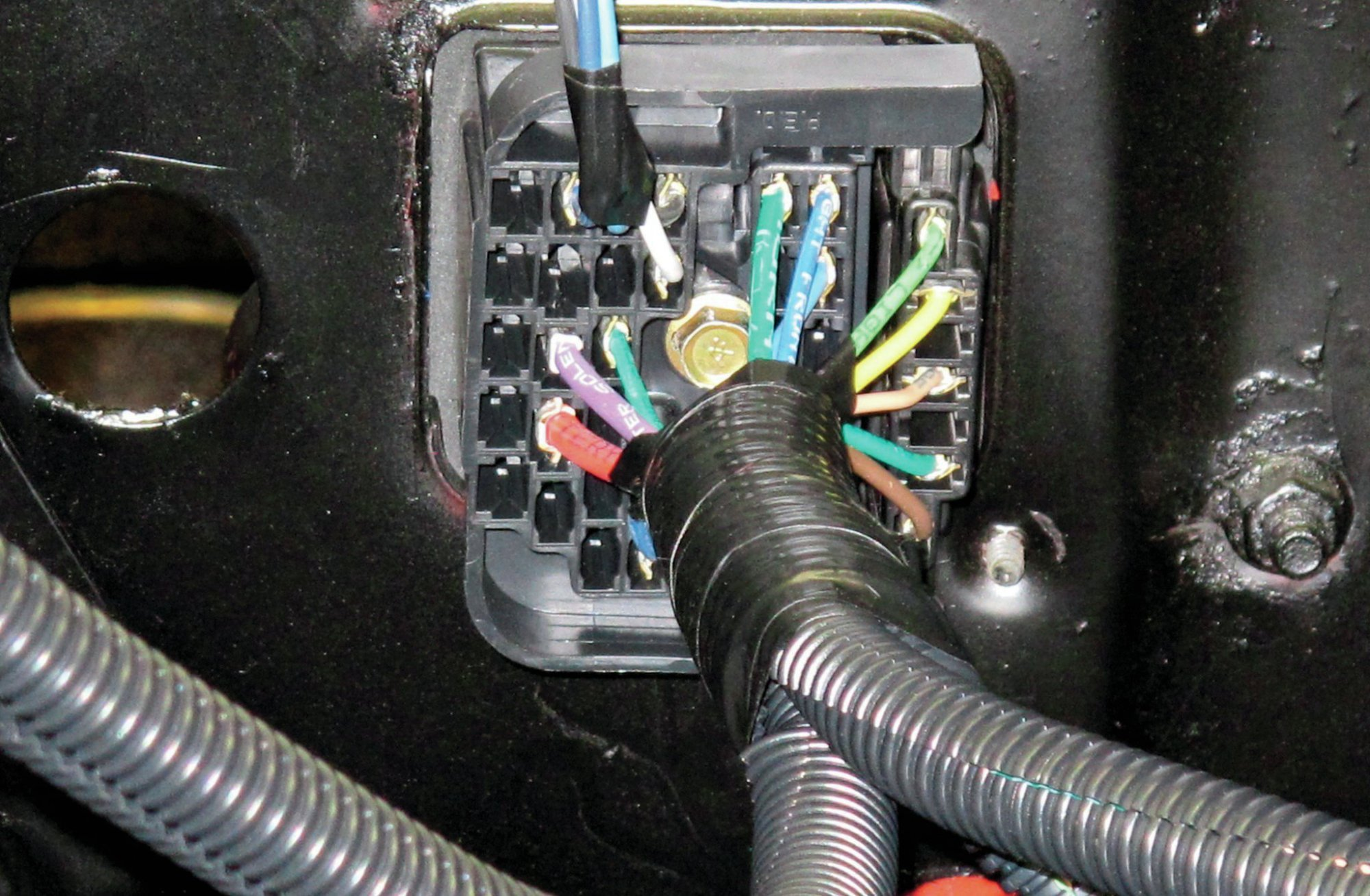 hight resolution of early 1979 corvette wiring harnes