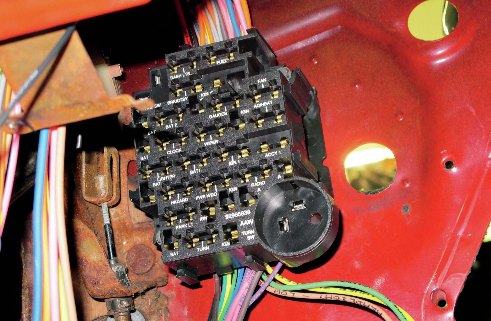 1967 gto fuse box upgrade automotive block diagram u2022 1967 chevelle fuse box 1967 gto [ 2048 x 1340 Pixel ]