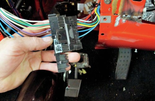 small resolution of 10 the turn signal switch is also plug and play note the american autowire color code matches the gm column wiring