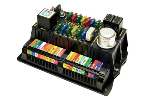 small resolution of 03 the highway 22 fuse block is not prewired which allows it to be located