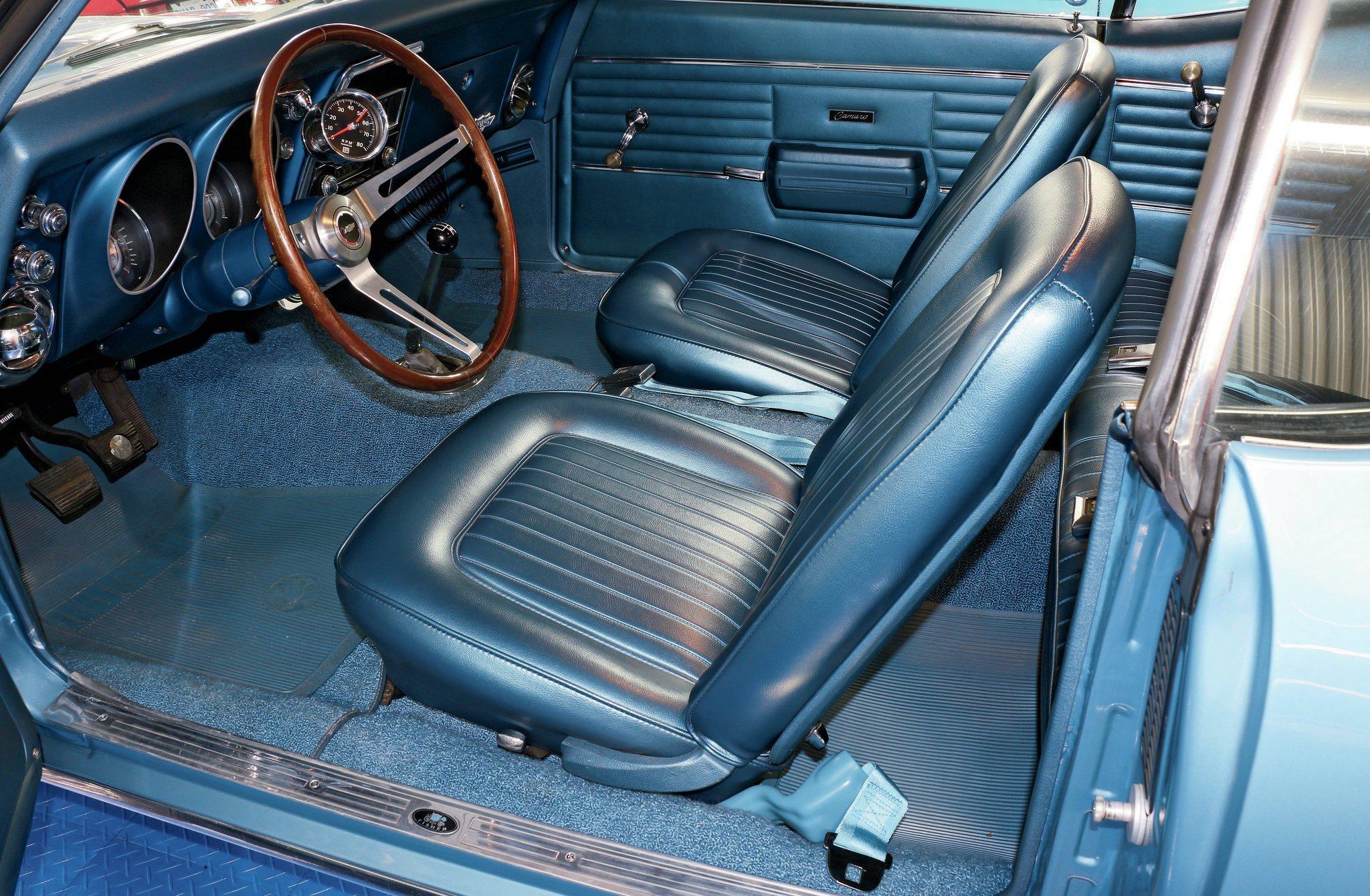 Factory Chevy Nova Bucket Seats