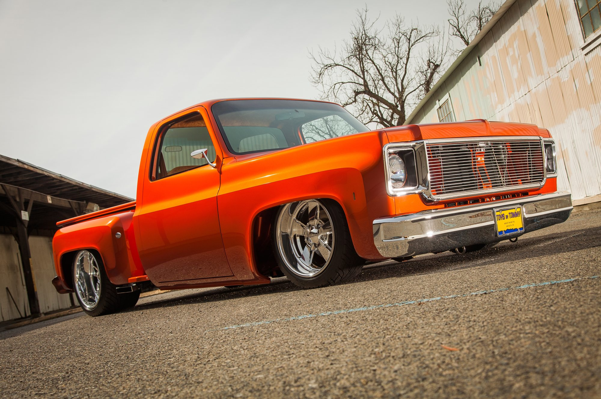 hight resolution of 1978 chevrolet stepside front passenger side low angle