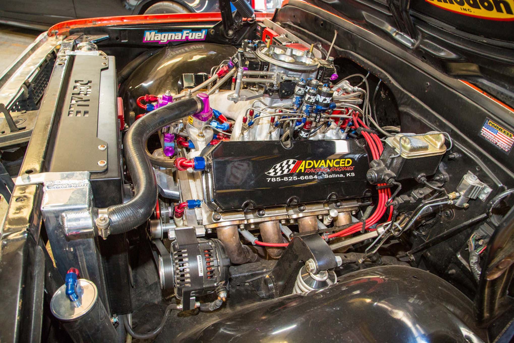 Gm 4l80e Transmission Wiring Sneak Peek At Street Outlaws Farmtruck S New Engine Combo