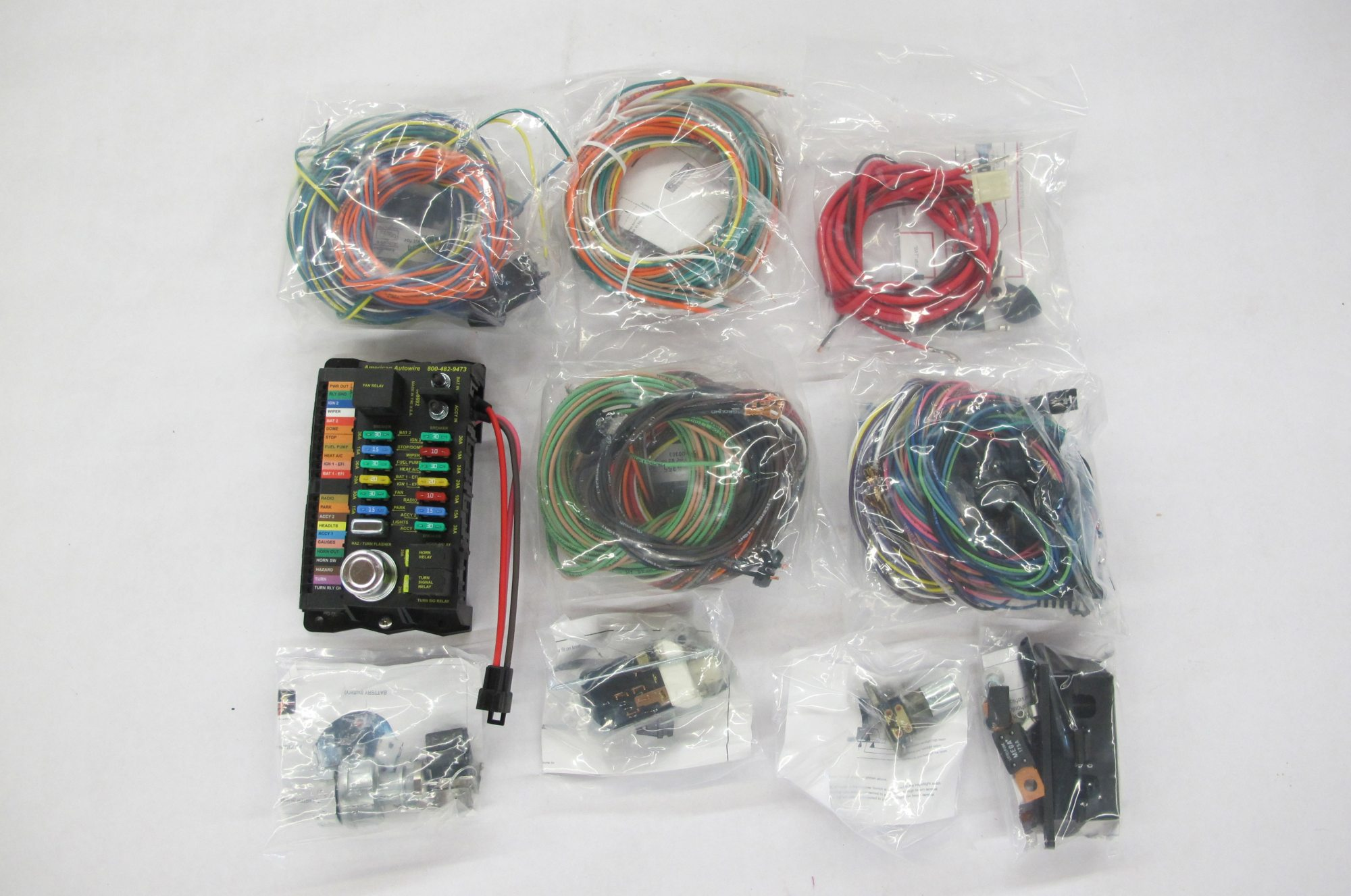 hight resolution of 02 american autowire wiring harness kit kits1