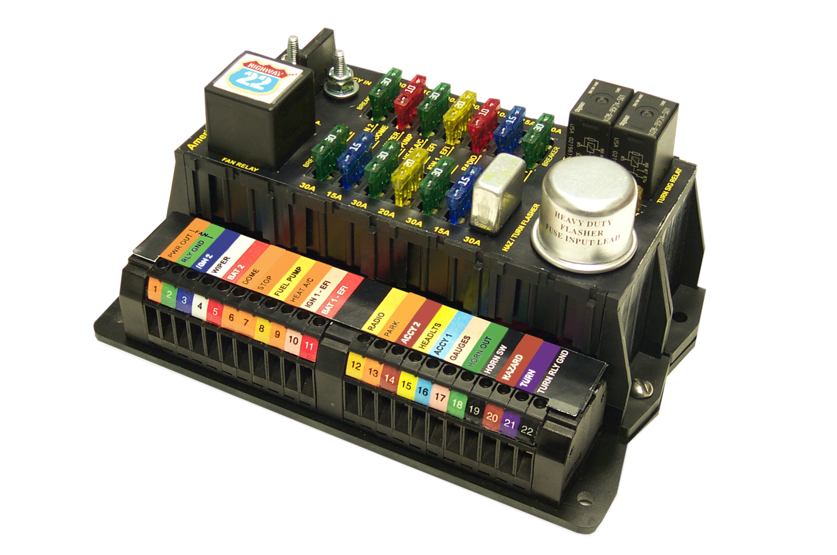 Wiring Simplified Do It Yourself With An American Autowire Kit