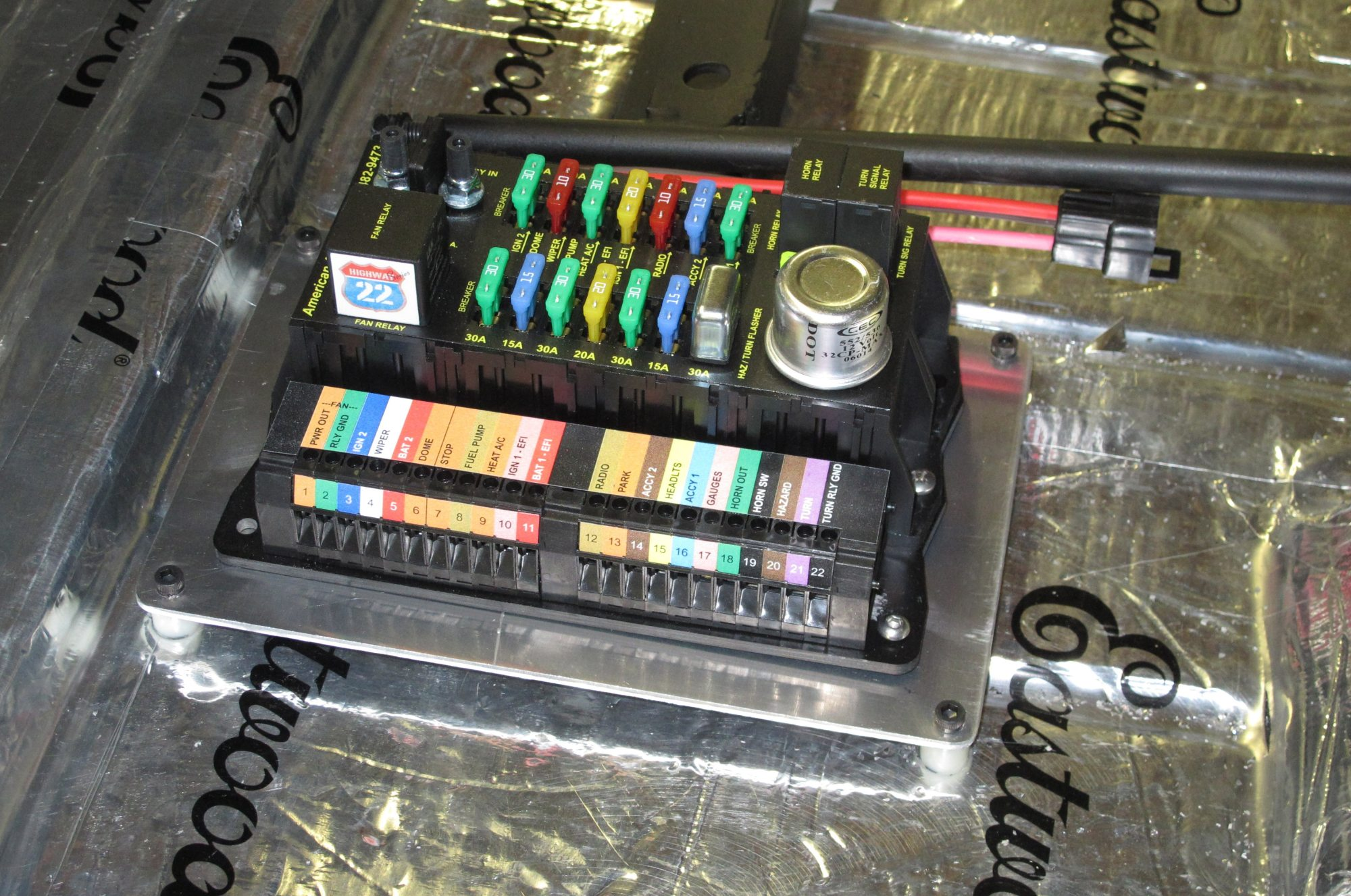 hight resolution of wiring simplified do it yourself with an american autowire kit highway 22 wiring harness