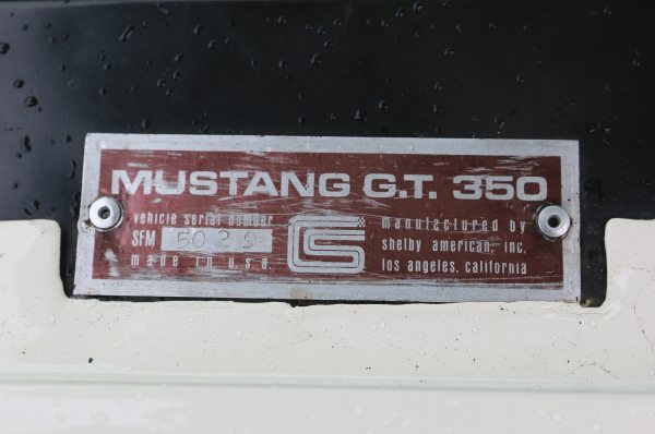 1966 Ford Mustang Vin Number - Year of Clean Water
