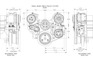 Modernizing a SmallBlock Chevy with a Concept One Pulley System  Hot Rod Network