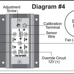 Wiring Circuits Diagrams Avital 3100 Alarm Diagram The Derale Fan Controller Can Save Your Electrical