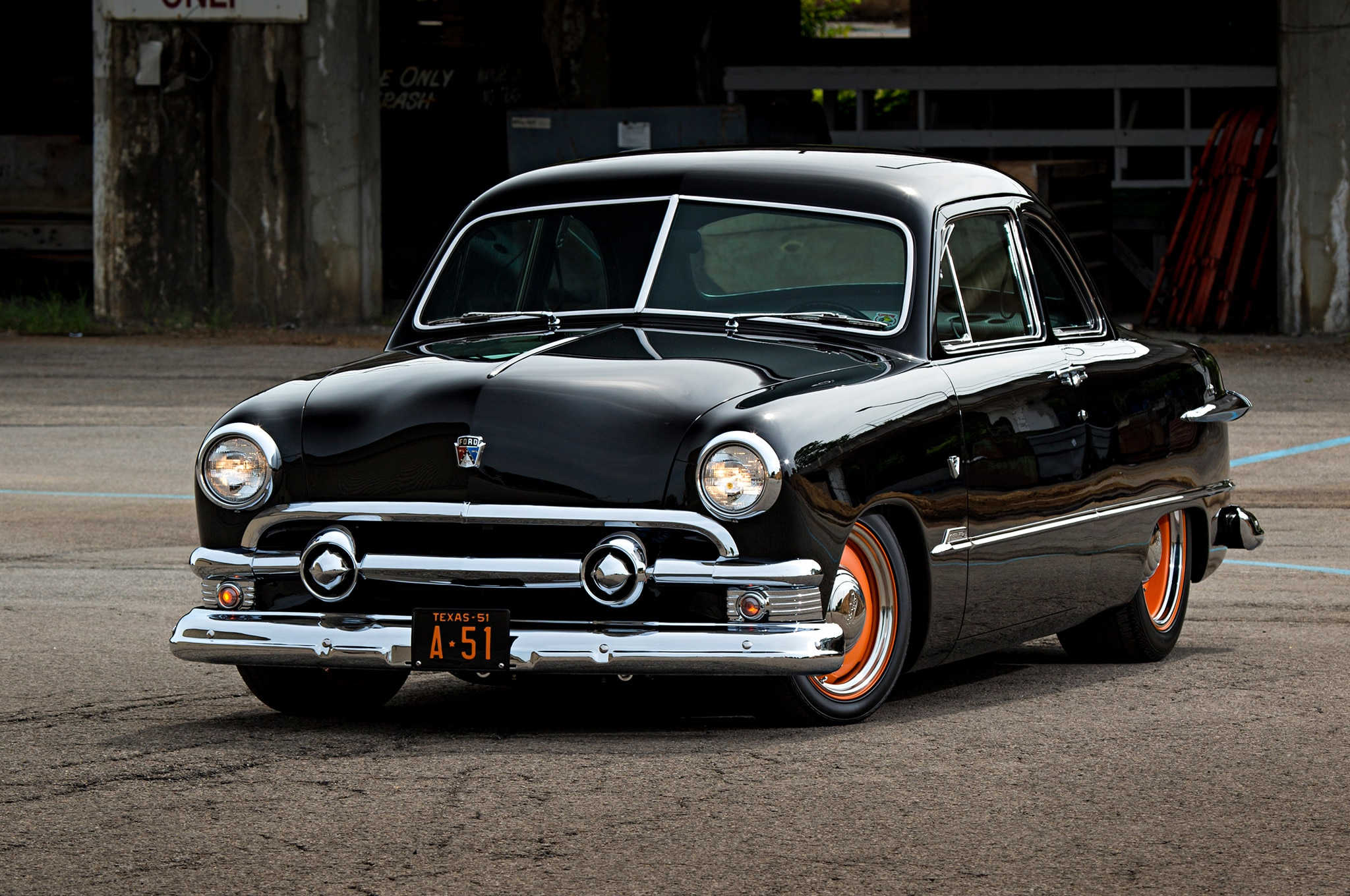 Doyle Thomas' 1951 Ford Club Coupe Is His Latest Car And