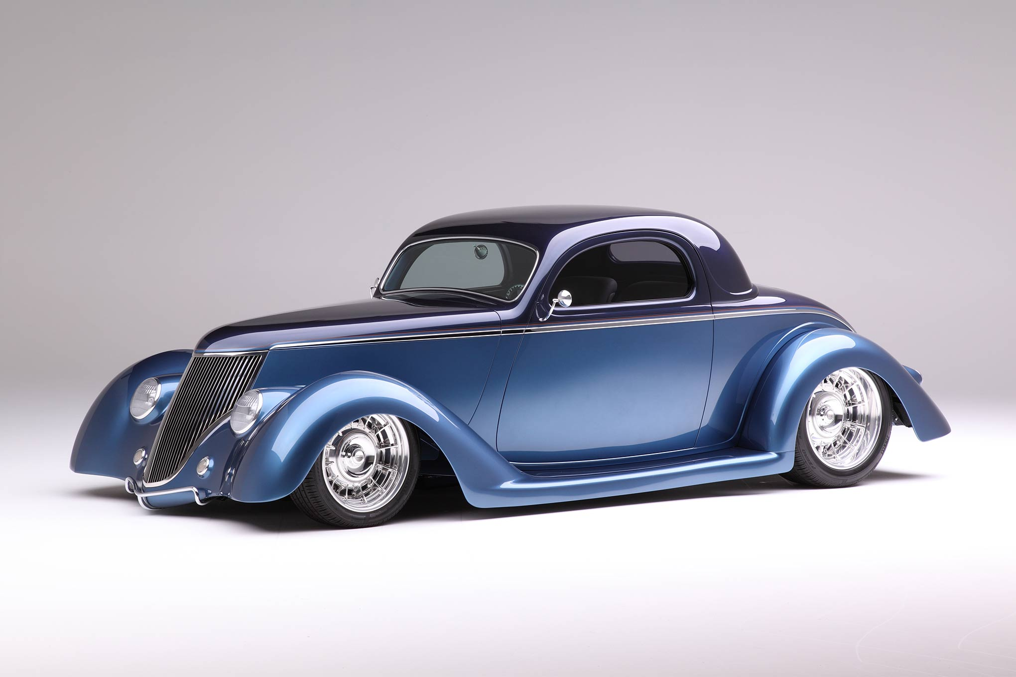 Street Racing Cars Wallpaper With Girls 1936 Ford Coupe Is Chip Foose Designed And Handformed In
