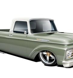02 1961 ford f100 rendering1 [ 2040 x 1360 Pixel ]