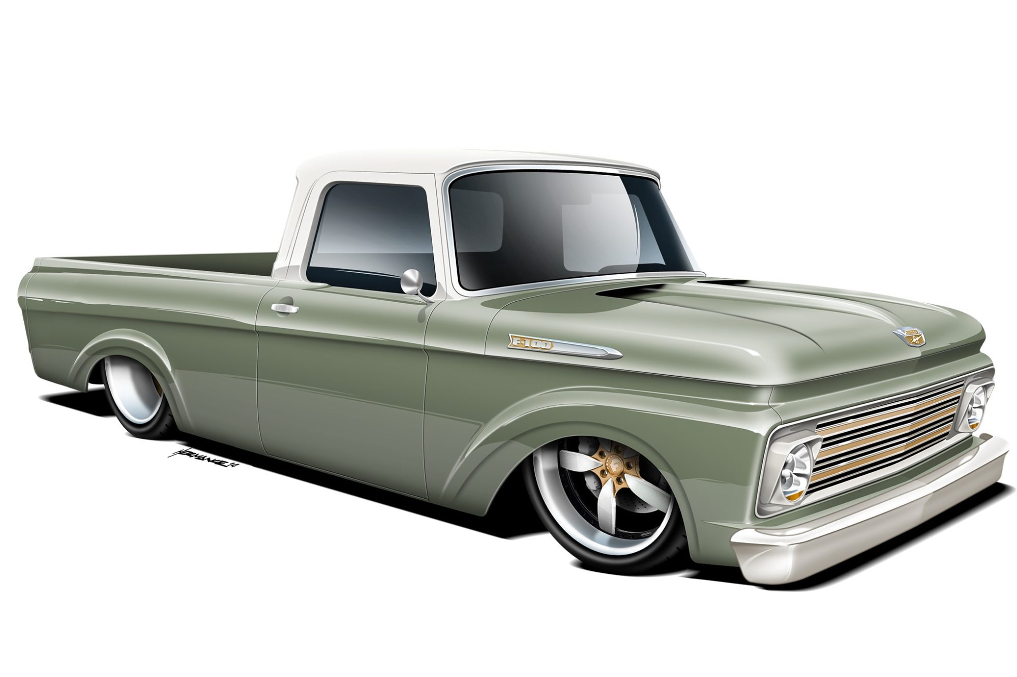hight resolution of 02 1961 ford f100 rendering1