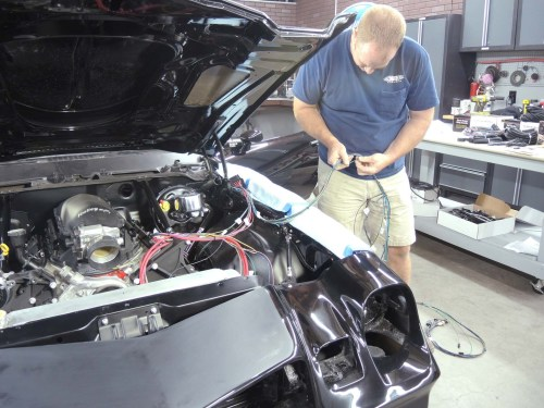 small resolution of tc penick from bay one customs in springfield tennessee connects the engine harness