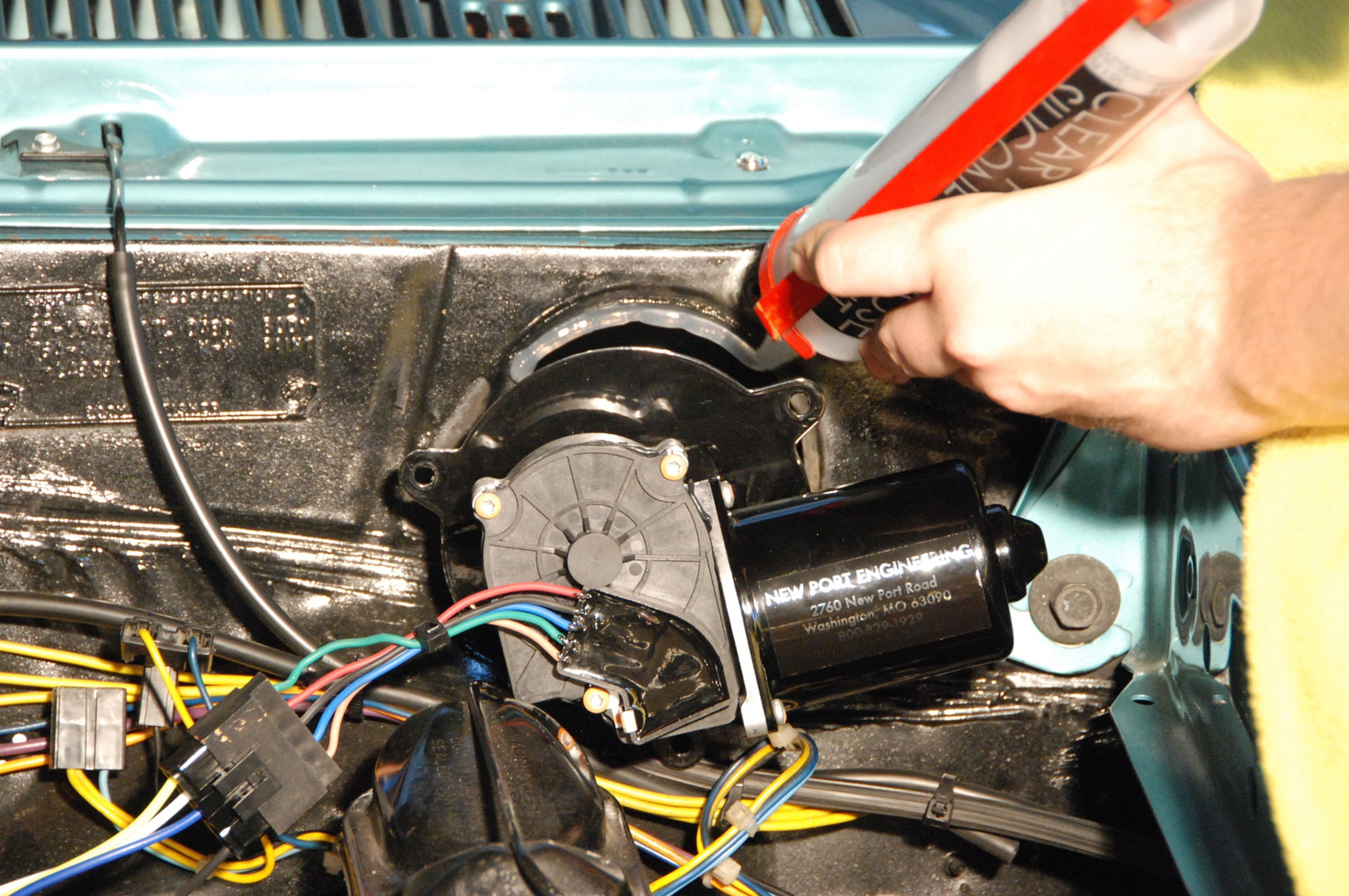 70 Chevelle Wiper Motor Wiring
