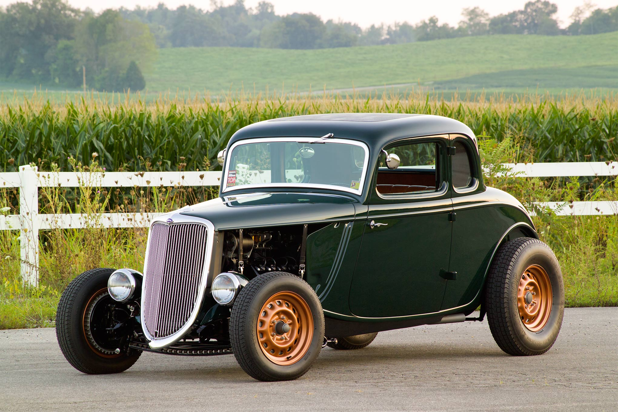 This 1934 Ford Coupe Was Built To Be A Real Hot Rod Hot