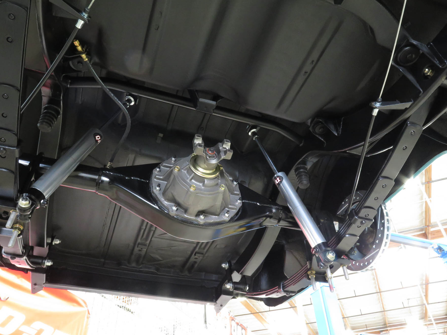 classic mini front suspension diagram ford 460 spark plug wire installing cpps complete 1955 57 chevy leaf spring