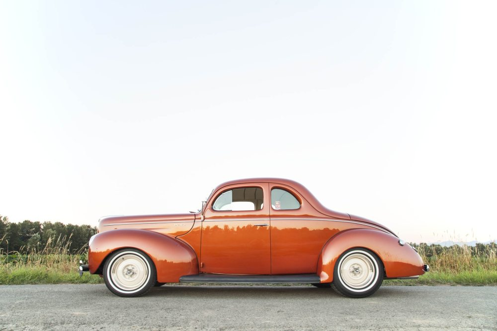 medium resolution of 1940 ford runs neatly disguised fe motor or does it hot rod network 1940 ford coupe wiring harness