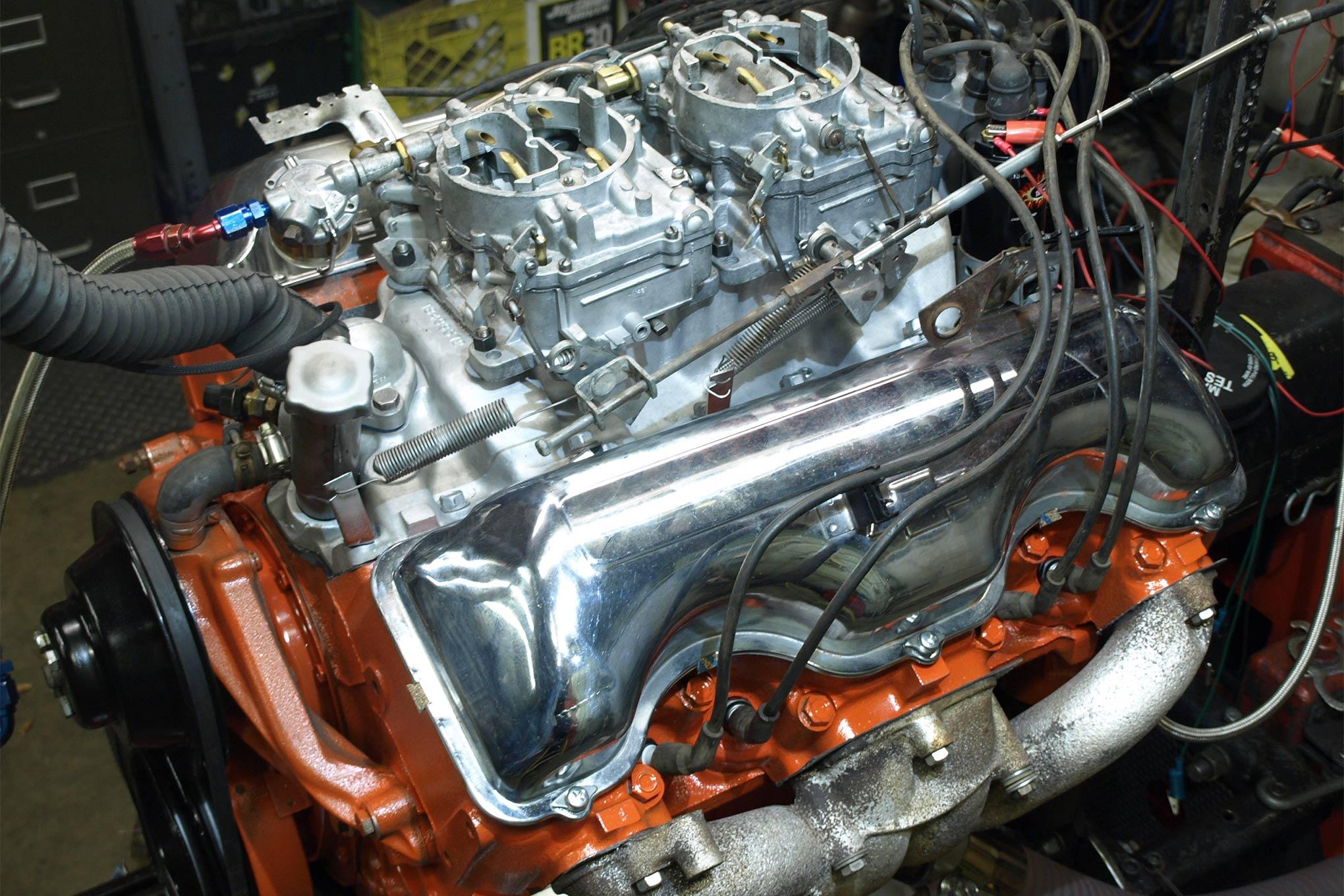 1976 Camaro Wiring Diagram Rebuilding Chevrolet S So Fine 409 V8 Engine Hot Rod Network