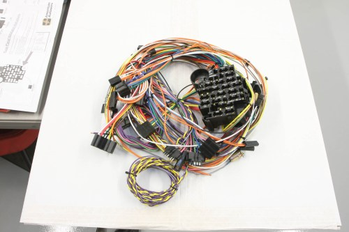 small resolution of to update the wiring in his 1955 chevrolet manson chose a replacement harness from american