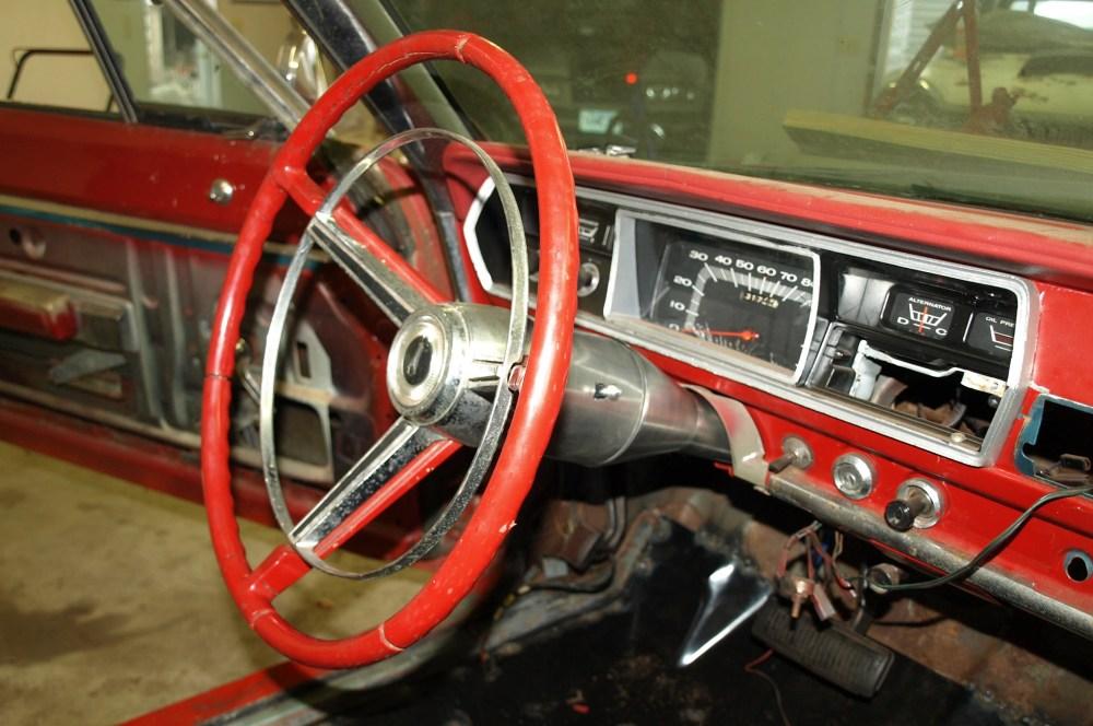 medium resolution of 1967 plymouth belvedere mopar steering column swap1
