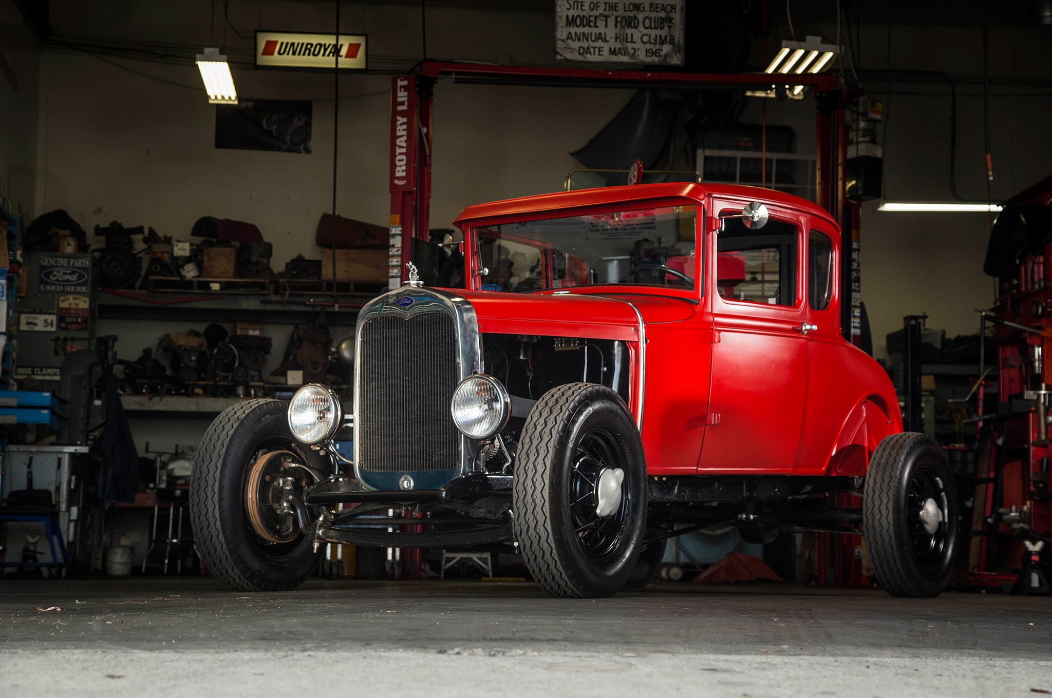 Old-Time Four-Banger: 1930 Ford Model A is Hot Rodding in its Purest Form - Hot Rod Network