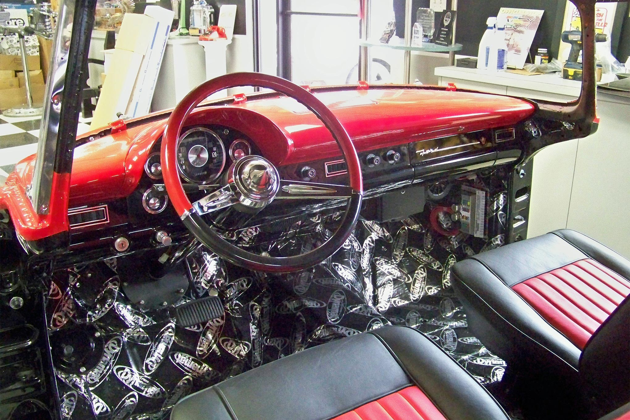 Mustang Stereo Wiring Diagram 1956 Ford Fairlane Victoria Dashboard Gets The Custom