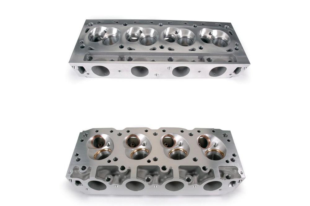 medium resolution of canted valve 951 heads vs boss 9 hemi heads1