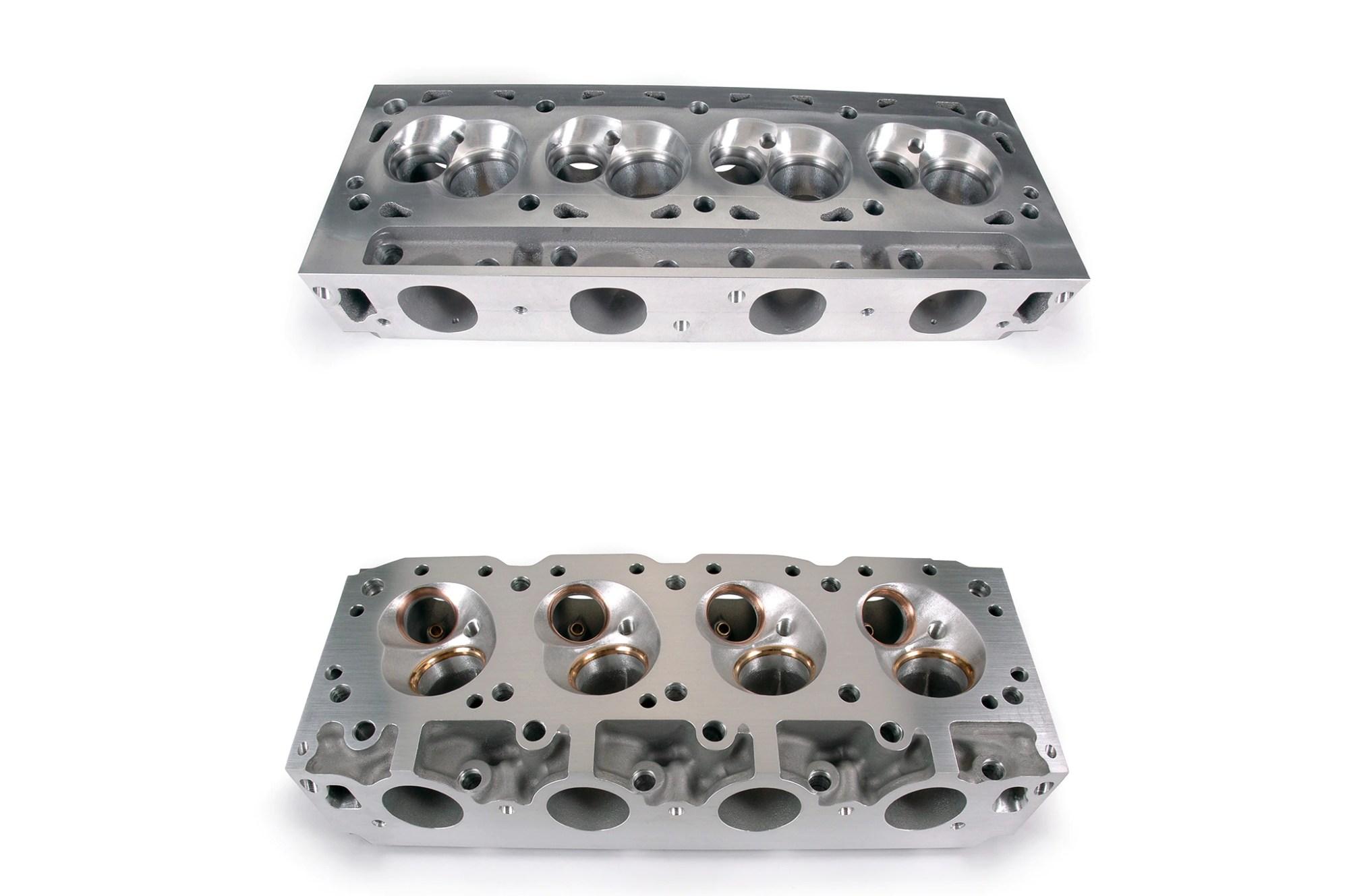 hight resolution of canted valve 951 heads vs boss 9 hemi heads1