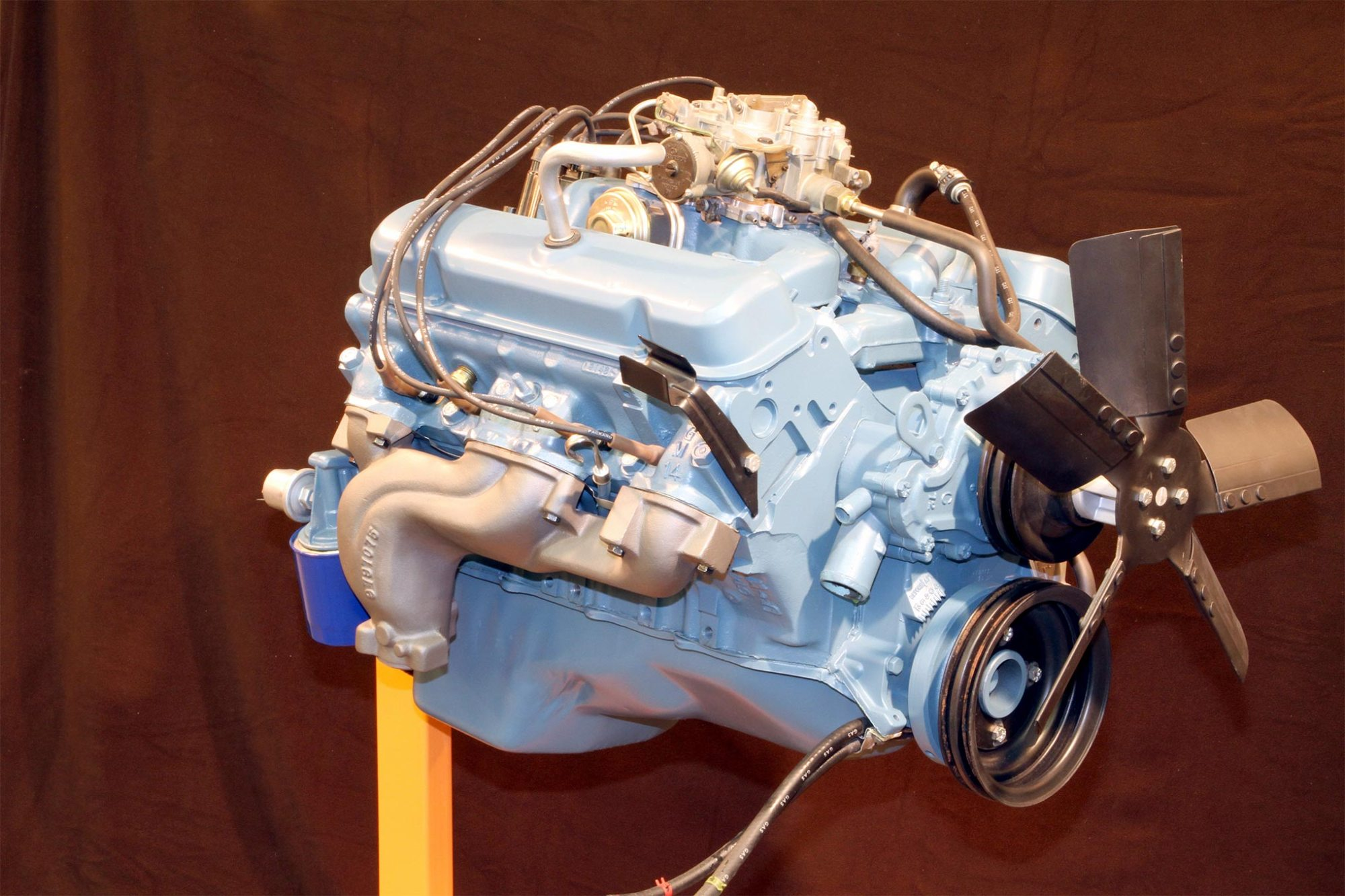 hight resolution of the longest stroke that pontiac offered for its v8 was in the 455 the 4 21
