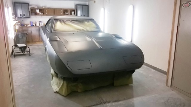 No, it's not a 1969 Dodge Daytona—it just looks like one. Steve Mirabelli's home-built project is really a 2006 Dodge Charger SRT8.