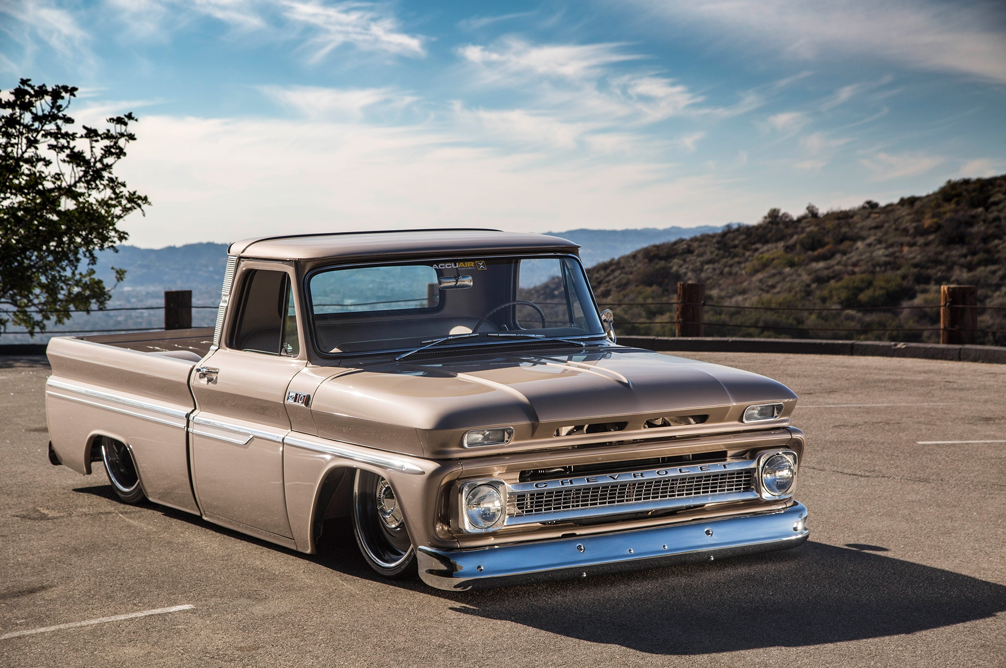 Delmos Does It Again With A Slammed 1965 Chevrolet C10