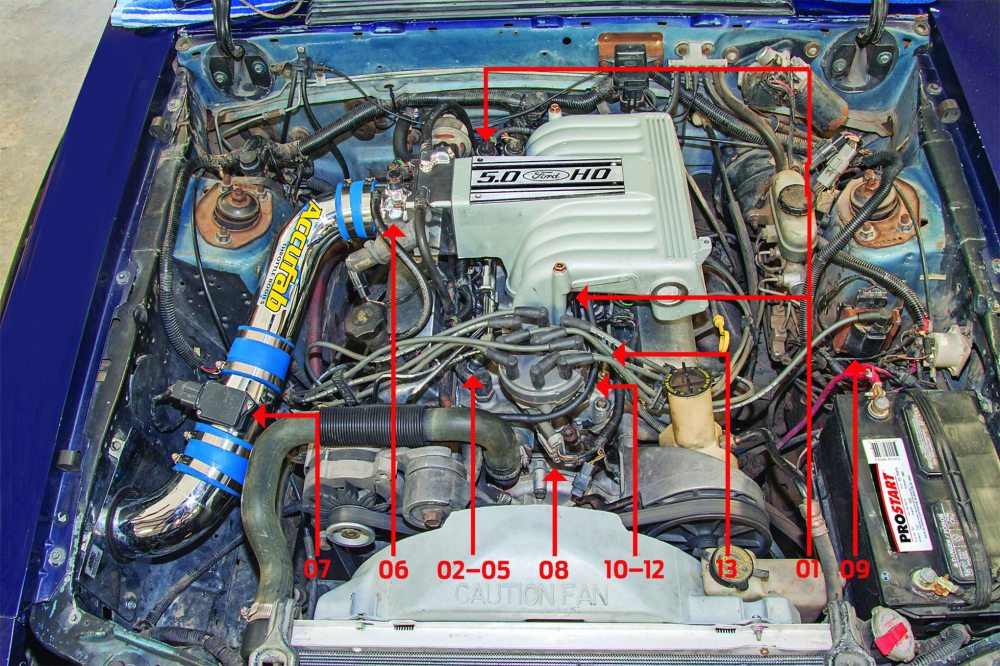 medium resolution of hot rod to the rescue sorting out distributor and explorer retrofit 97 explorer engine wiring harness