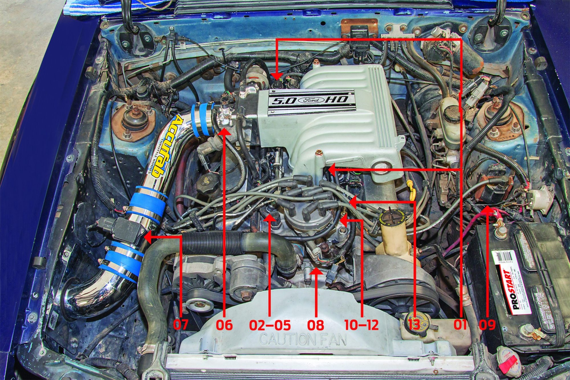hight resolution of hot rod to the rescue sorting out distributor and explorer retrofit 97 explorer engine wiring harness