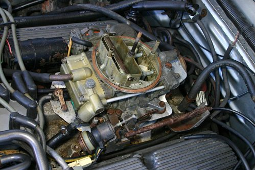 small resolution of for 3 years the 5 0l high output was fitted with the holley 4180c 1984 ford mustang 50 carbureted wiring harness