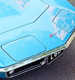 1968 1982 chevrolet corvette hood close up [ 2040 x 1360 Pixel ]