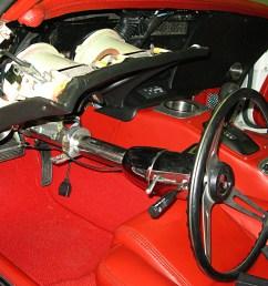 1968 1982 chevrolet corvette removing headlight switch from  [ 2039 x 1360 Pixel ]