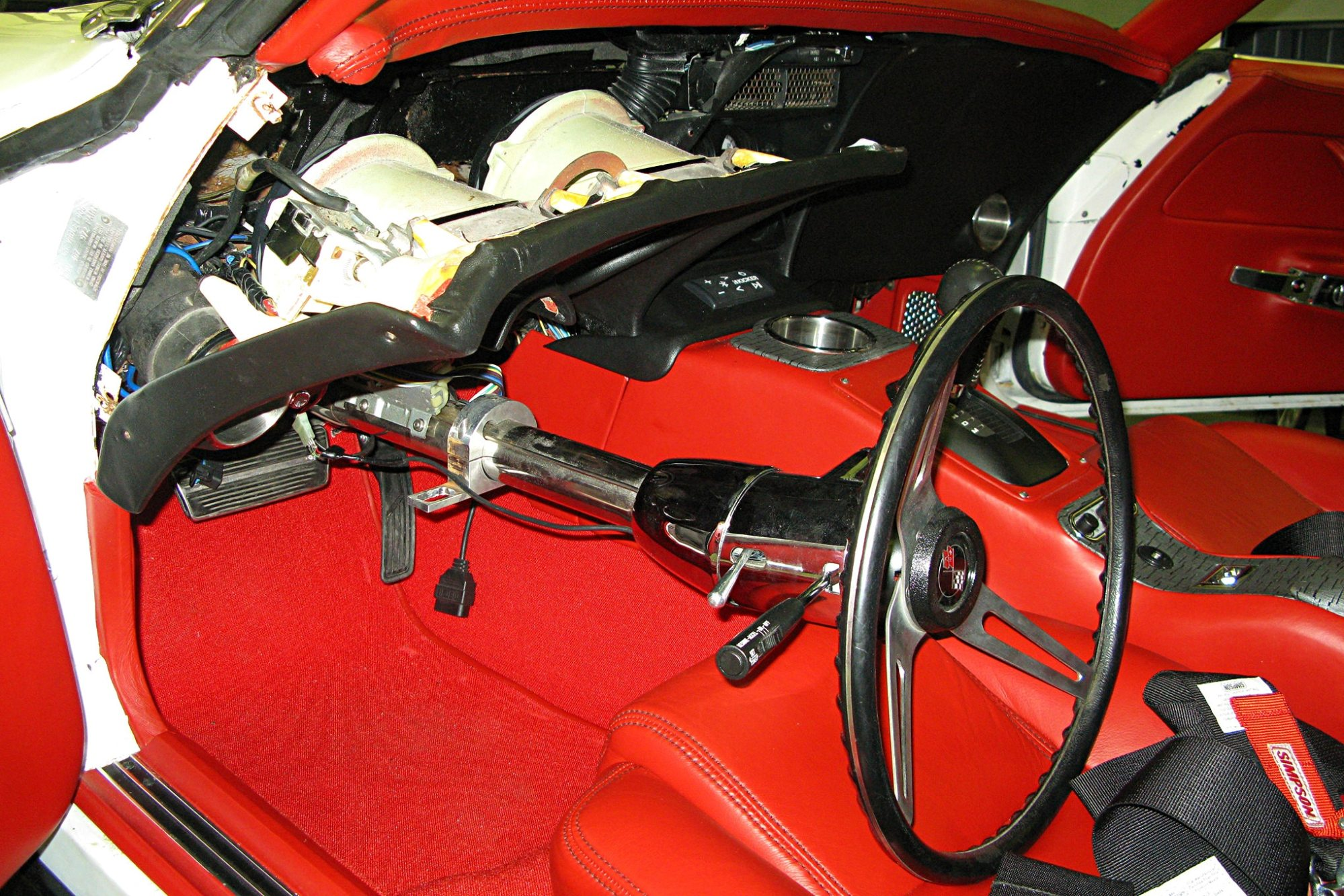 hight resolution of 1968 1982 chevrolet corvette removing headlight switch from
