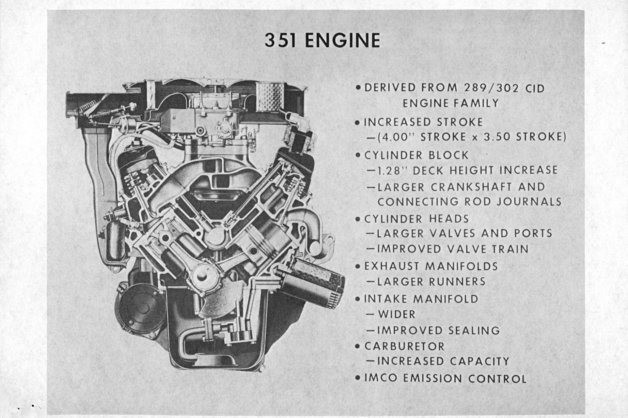 hight resolution of everything you need to know about ford u0027s 351  cleveland powerhouseford 289 engine