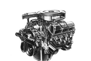 Ford V8 Engine Cutaway Diagram | Wiring Library