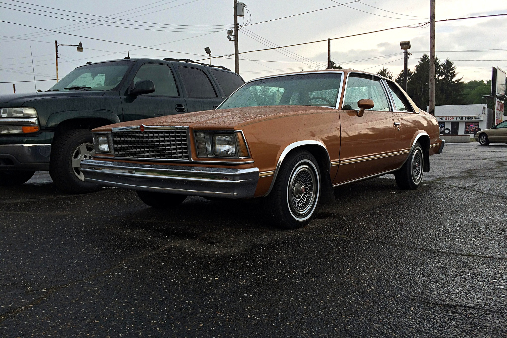 Car Craft's newest project car, the 1978 Malibu we spotted on the lot at K.O. Motors in Akron, Ohio.