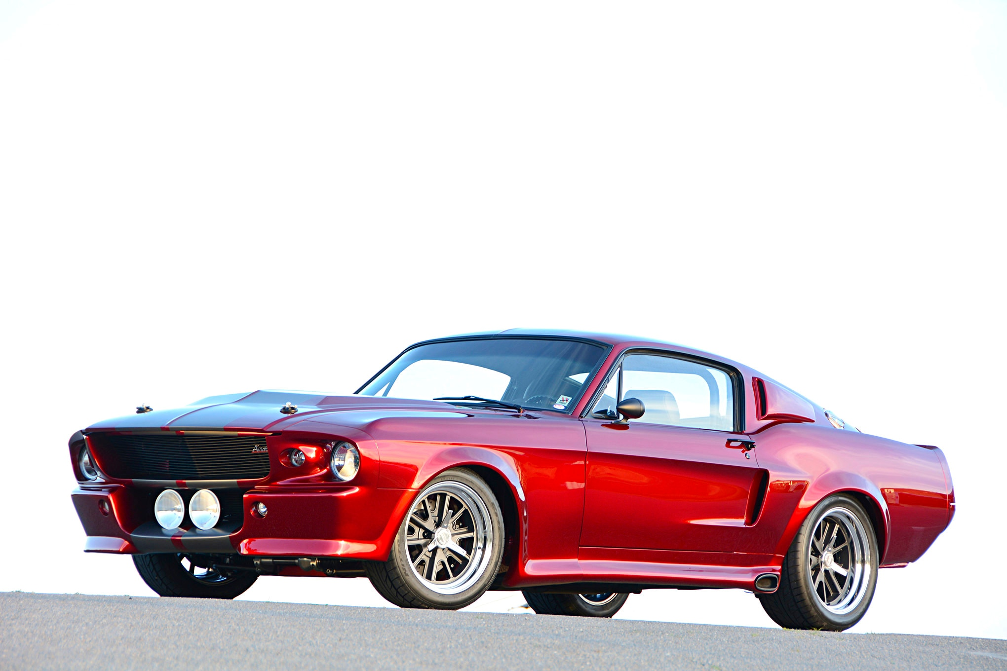 This Aviationthemed 1967 Ford Mustang Is A Pilot's Dream