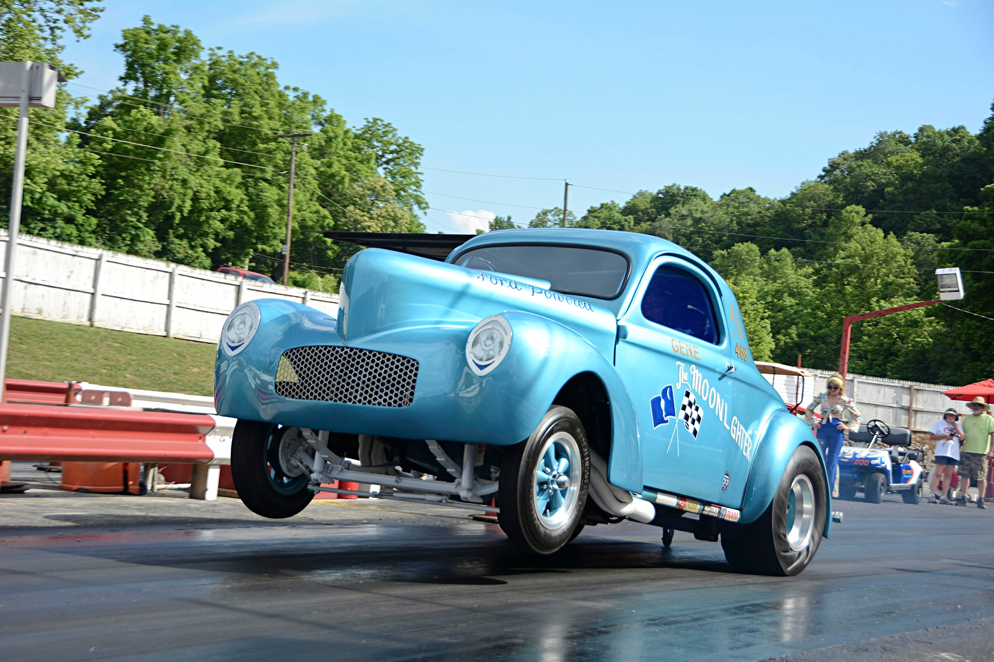 Historic Willys Gasser Returns to the Track after 45 Years