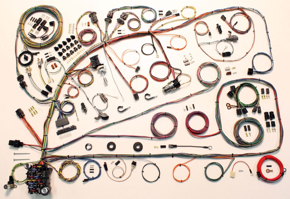 medium resolution of an american autowire 1966 1967 ford fairlane classic update kit was used to replace the