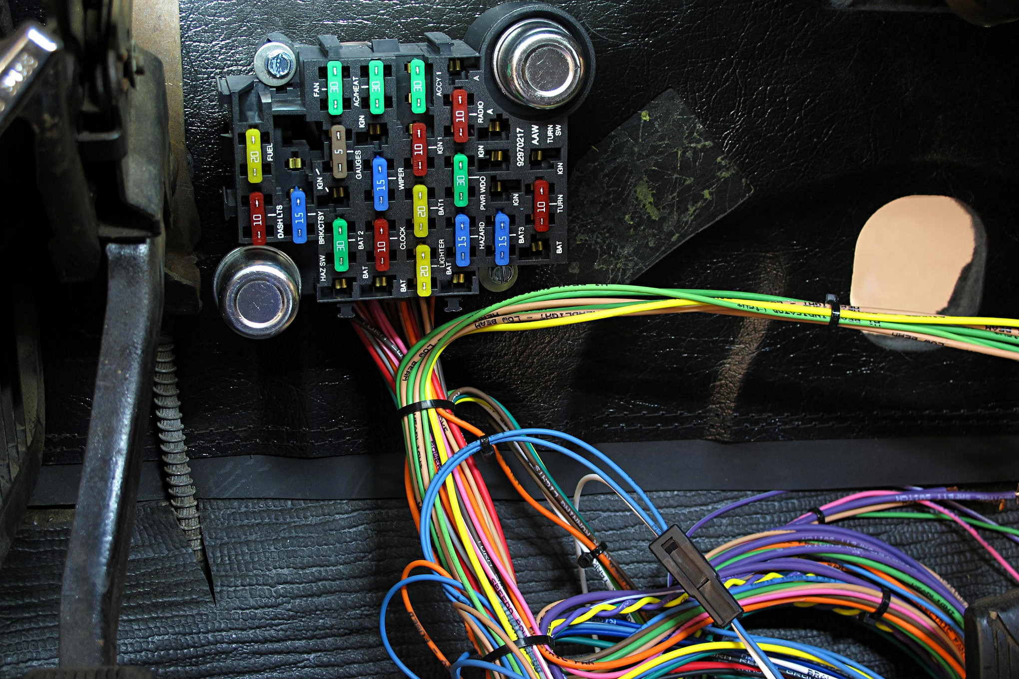 Dash Wiring Diagram In Addition 1969 Camaro Under Dash Wiring Harness