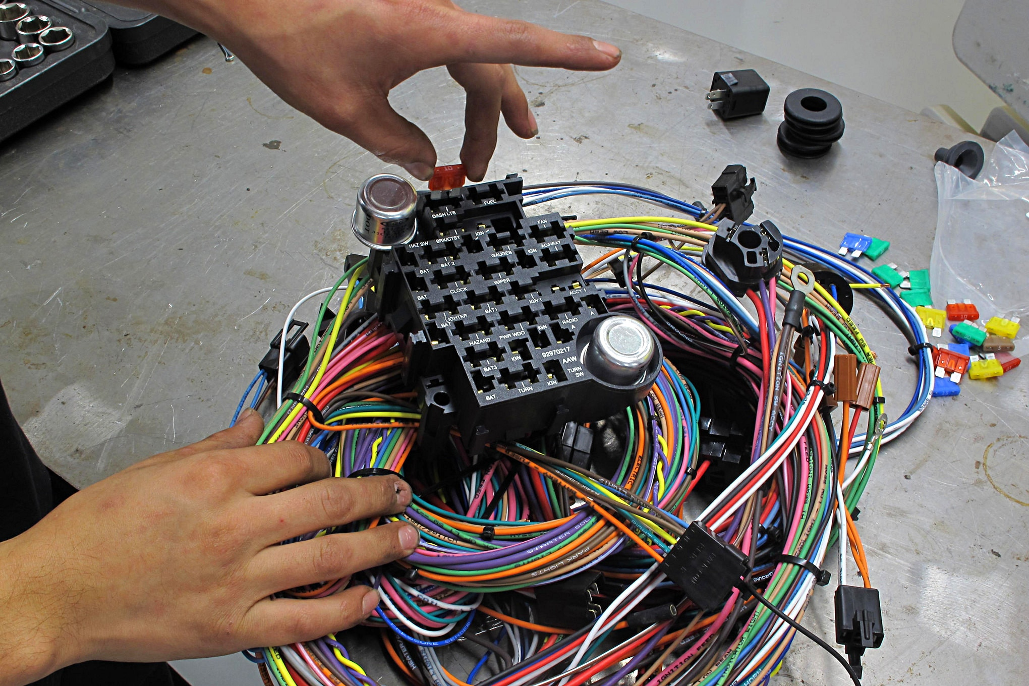 1955 Ford F100 Wiring Harness