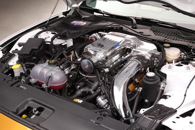2017-Hurst-Kenne-Bell-R-Code-Mustang-engine