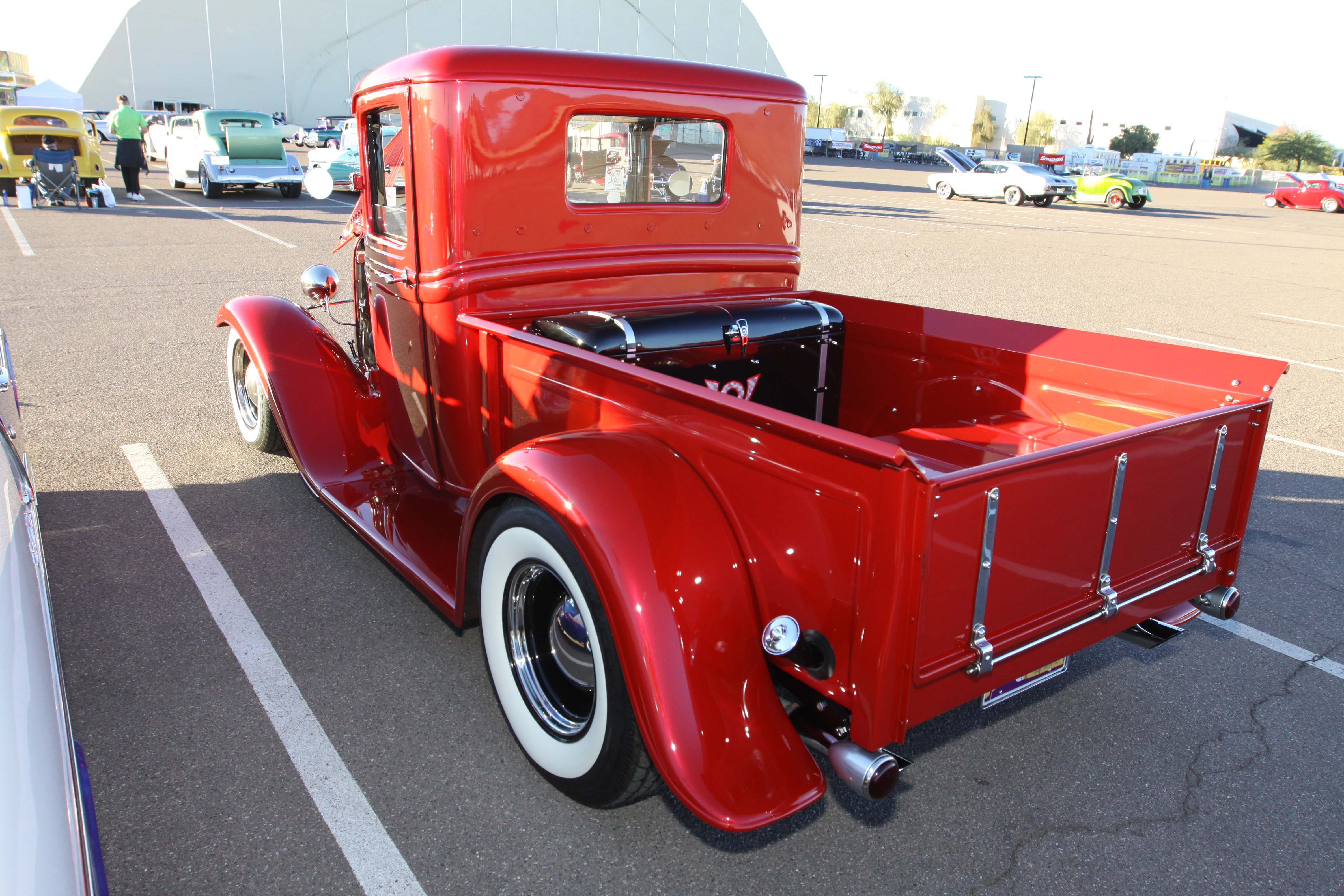 The Thanksgiving Tale of Calvin Brandts Red 1933 Ford