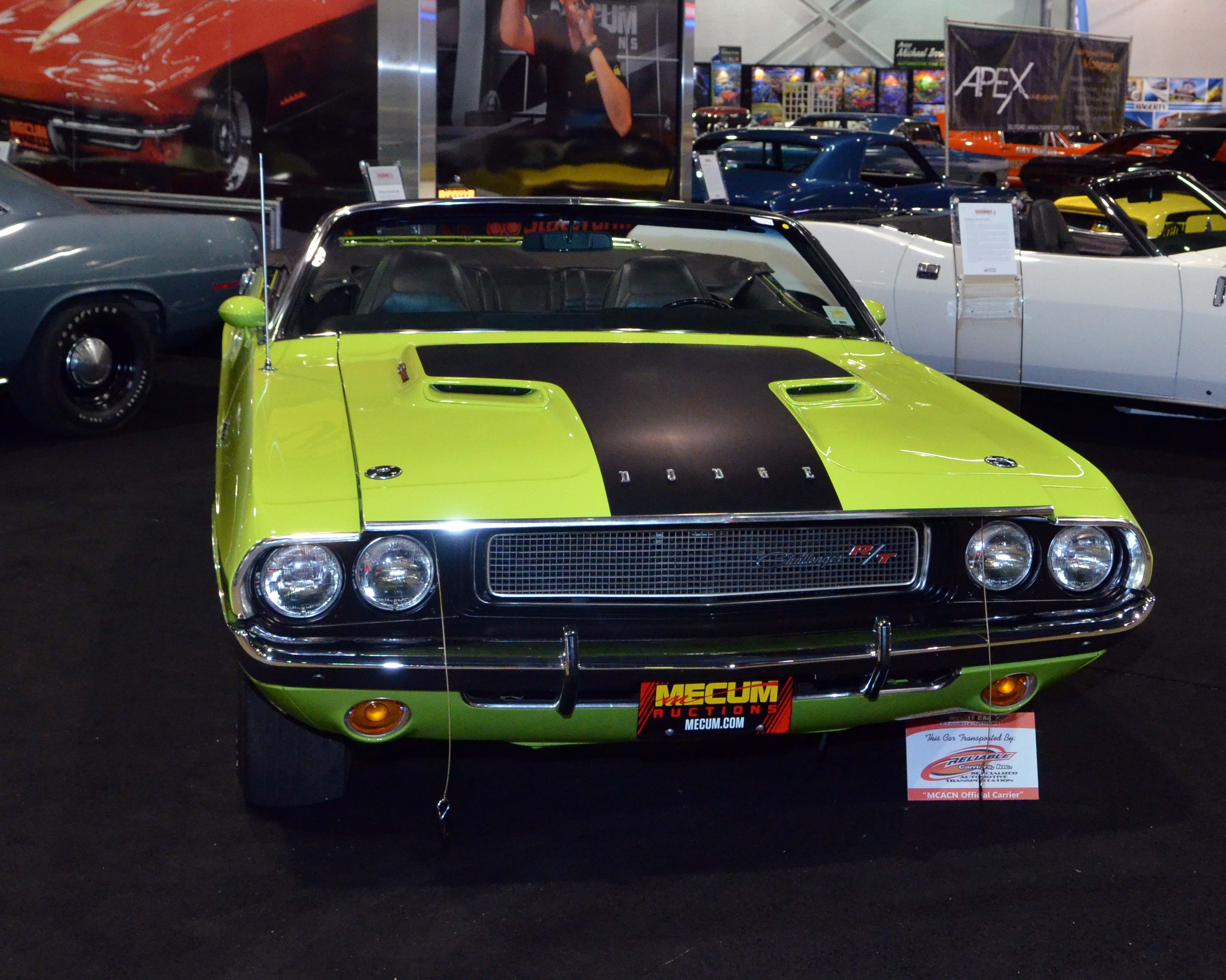 1970-hemi-challenger-convertible-green-mecum